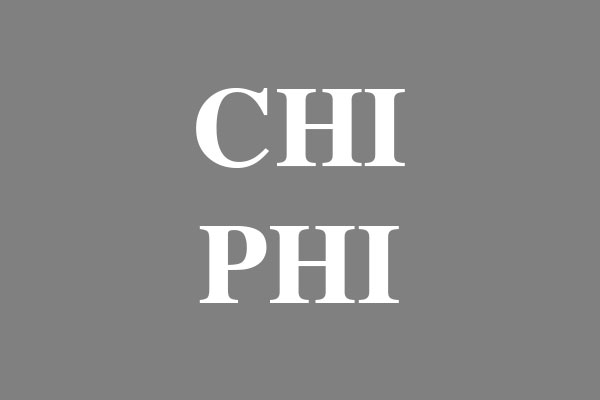 Chi Phi Fraternity Stickers