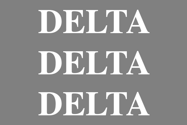 Delta Delta Delta Sorority Baseball Hats