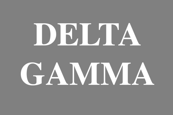 Delta Gamma Sorority Dog Tags