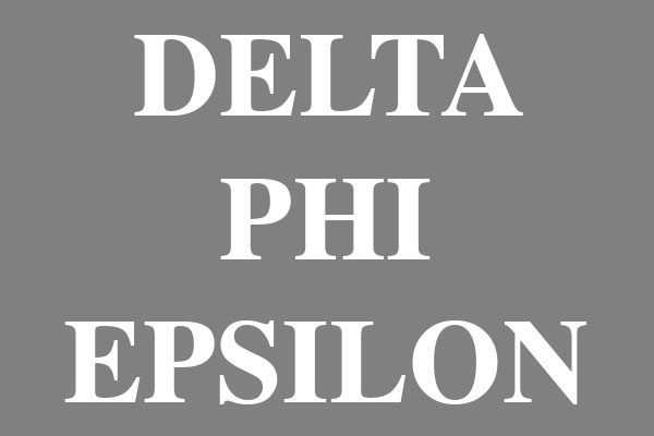 Delta Phi Epsilon Sorority Straw Tumblers (20 oz)