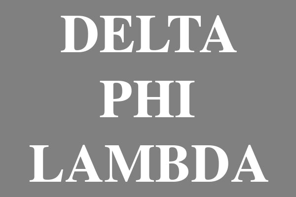 Delta Phi Lambda Sorority Men's Polo Shirts