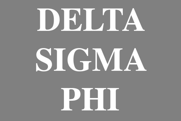 Delta Sigma Phi Fraternity Luggage Tags