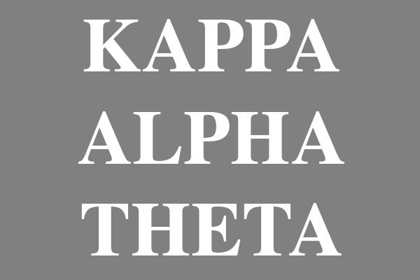 Kappa Alpha Theta Sorority Women's Football Tees