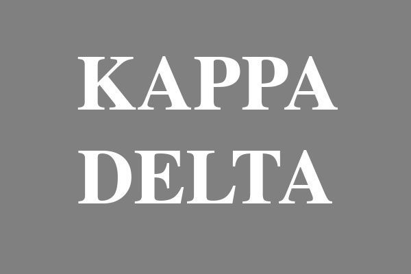 Kappa Delta Sorority Men's Hooded T-Shirts