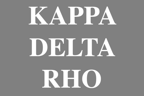 Kappa Delta Rho Fraternity Men's Long Sleeve T-Shirts