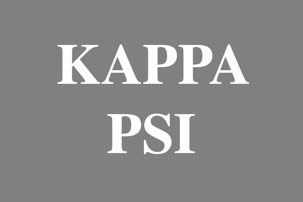 Kappa Psi Fraternity Men's Hooded T-Shirts