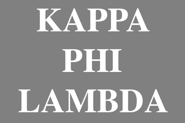 Kappa Phi Lambda Sorority Plus Size Scoop Neck Tees
