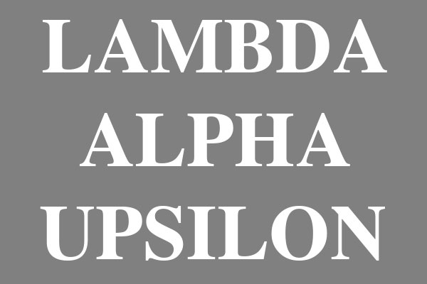 Lambda Alpha Upsilon Fraternity Men's Clothing