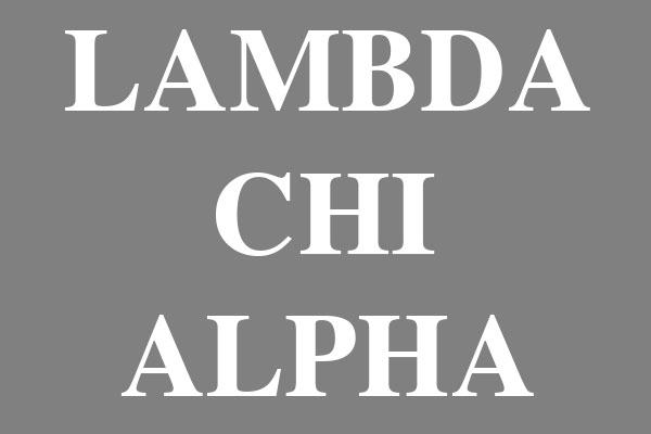 Lambda Chi Alpha Fraternity Men's Tri-Blend T-Shirts