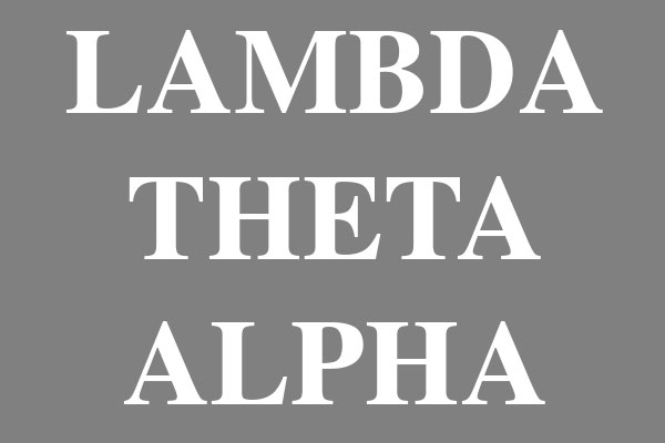 Lambda Theta Alpha Sorority Women's Clothing