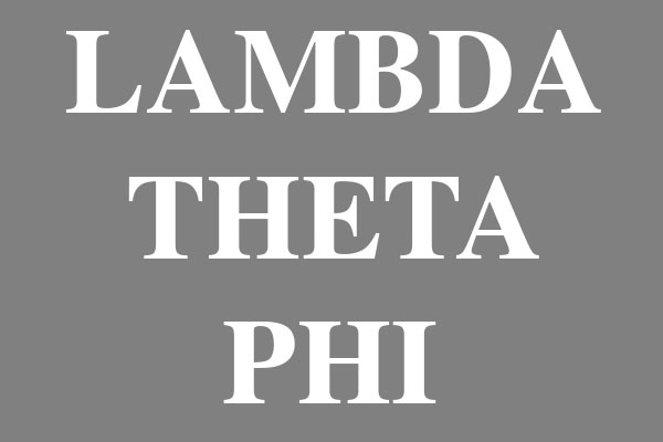Lambda Theta Phi Fraternity Car Magnets