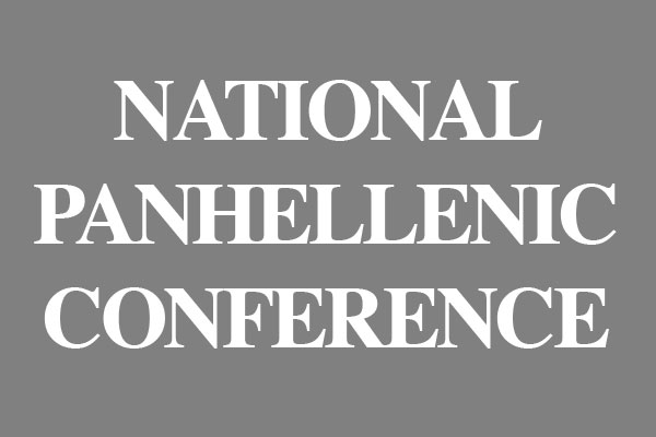 National Panhellenic Conference Gifts