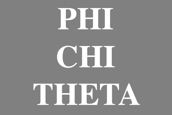 Phi Chi Theta Fraternity Round Car Magnets