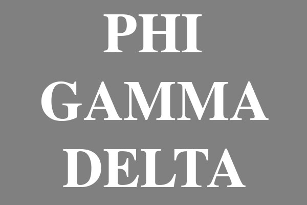 Phi Gamma Delta Fraternity Men's Long Sleeve T-Shirts