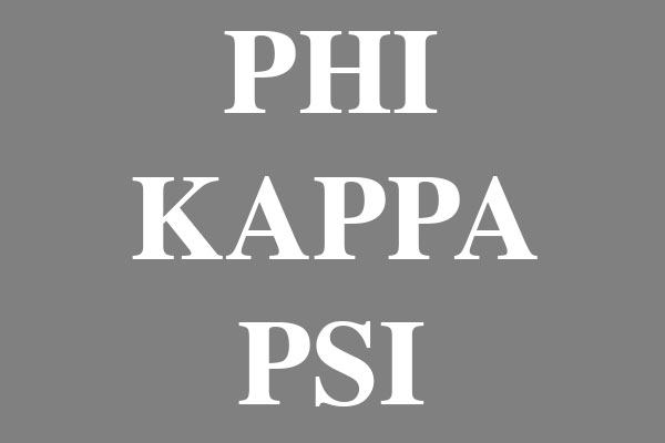 Phi Kappa Psi Fraternity Water Bottles