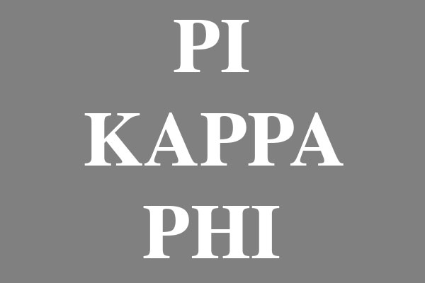 Pi Kappa Phi Fraternity Water Bottles
