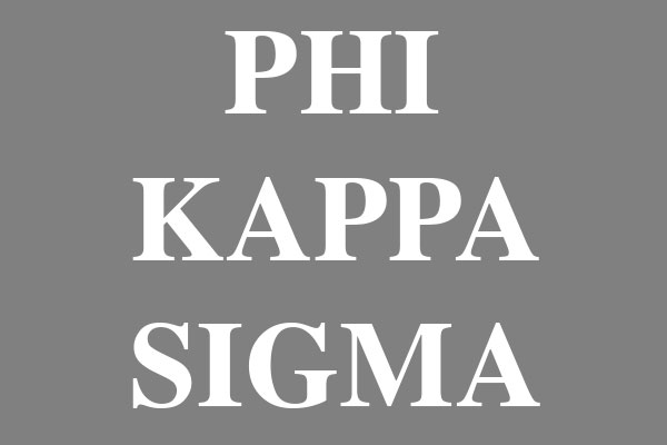 Phi Kappa Sigma Fraternity Rectangular Canvas Pillows