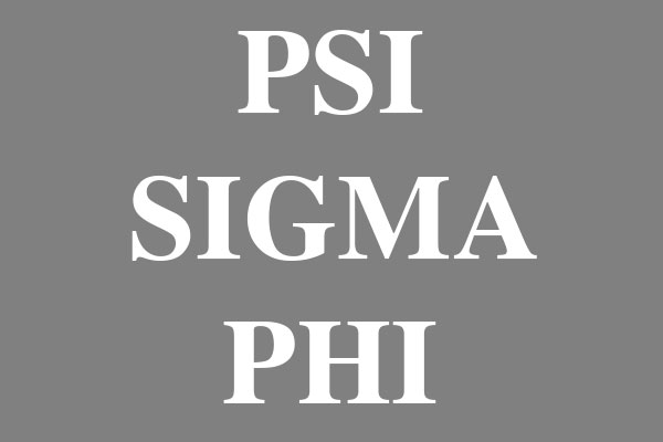Psi Sigma Phi Fraternity Mini Buttons