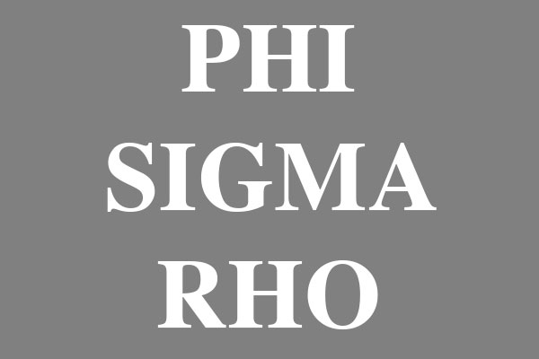 Phi Sigma Rho Sorority Men's Polo Shirts