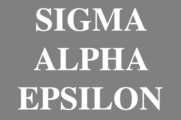 Sigma Alpha Epsilon Fraternity Wall Decals