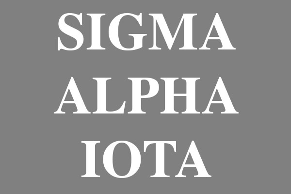 Sigma Alpha Iota Sorority Notebooks