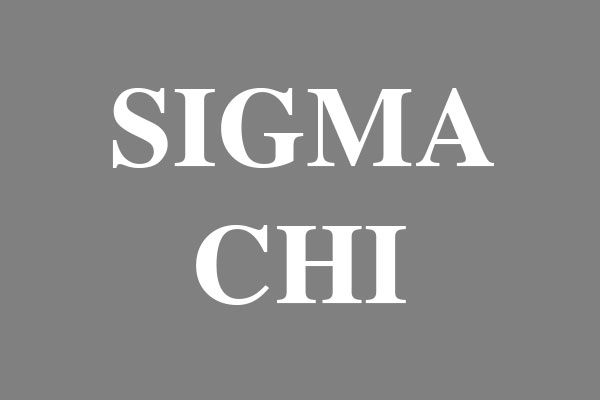 Sigma Chi Fraternity Oval Stickers