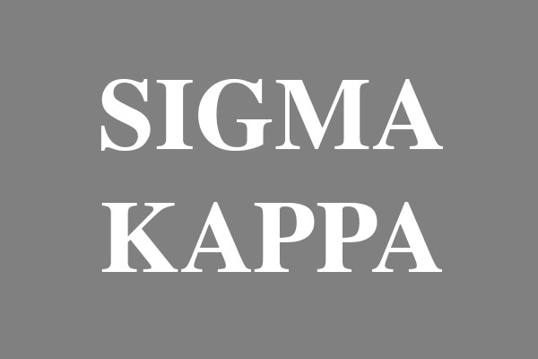 Sigma Kappa Sorority Pillows