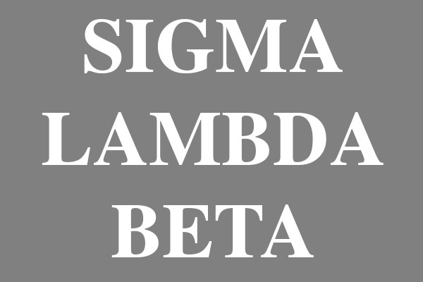 Sigma Lambda Beta Fraternity Coasters