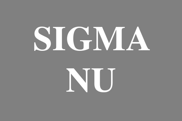 Sigma Nu Fraternity Oval Stickers