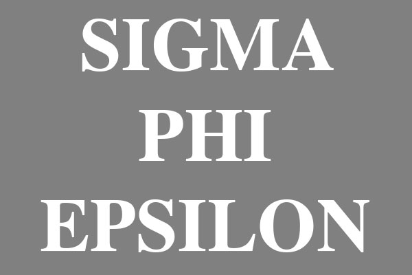 Sigma Phi Epsilon Fraternity Car Accessories