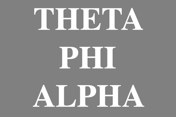 Theta Phi Alpha Sorority Pillows