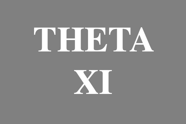 Theta Xi Fraternity Rectangle Magnets