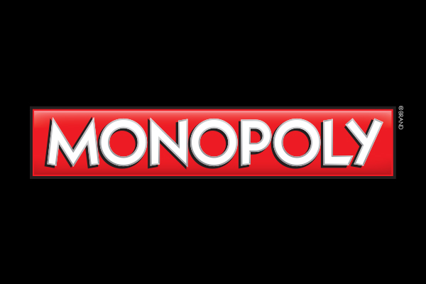 Monopoly TV Show Oval Cufflinks
