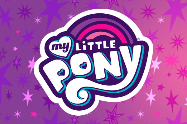 My Little Pony TV Show Bumper Stickers