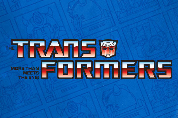 Transformers TV Show Silver Oval Charms