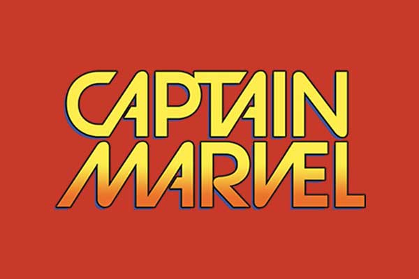 Captain Marvel Women's Baseball Tees
