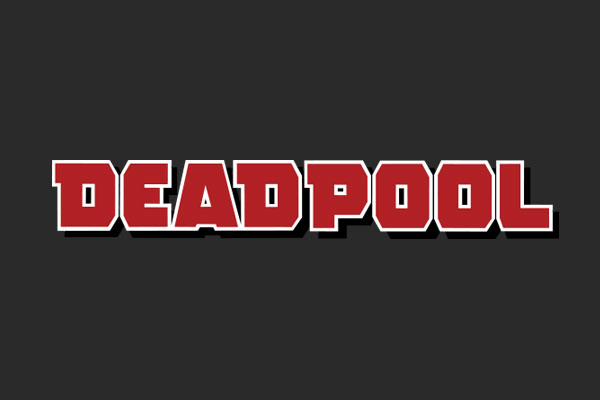 Marvel's Deadpool Silver Square Charms