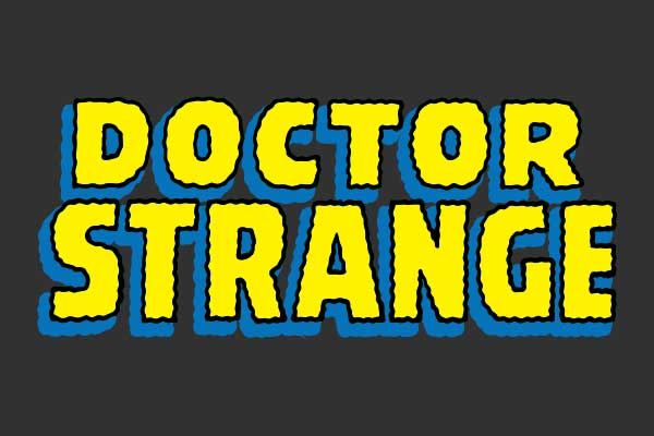 Doctor Strange Men's Baseball Tees