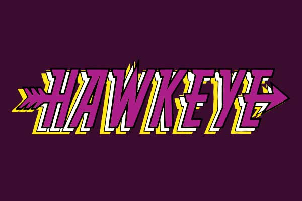 Marvel's Hawkeye Women's V-neck T-Shirts