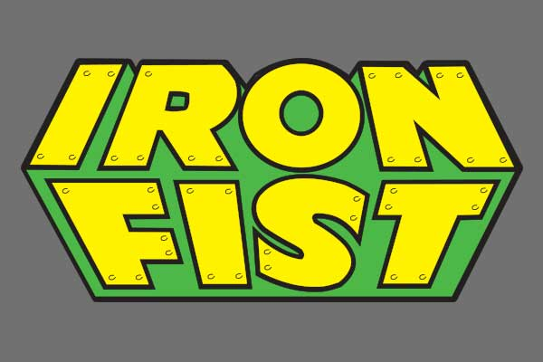 Marvel's Iron Fist Kids Baseball T-Shirts