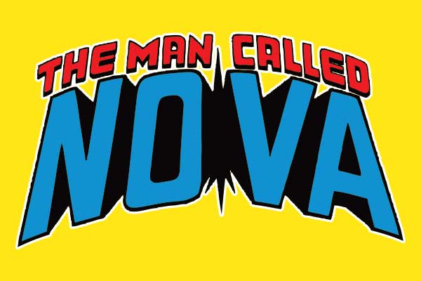 Marvel's Nova Men's Fitted T-Shirts