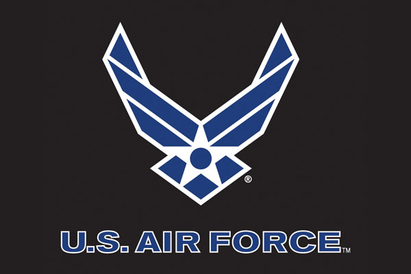 U.S. Air Force Aluminum License Plates