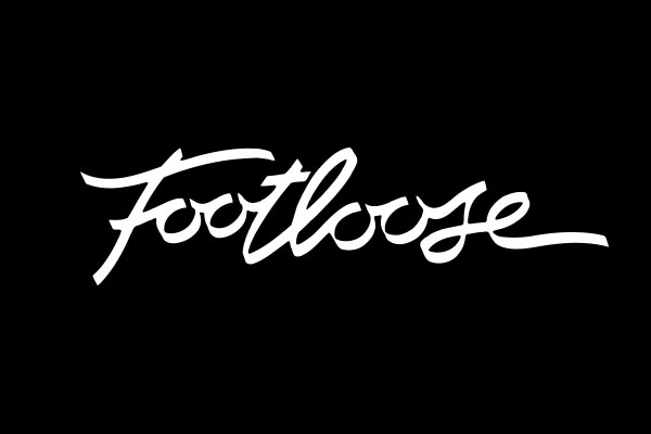 Footloose Movie Oval Charm Earrings