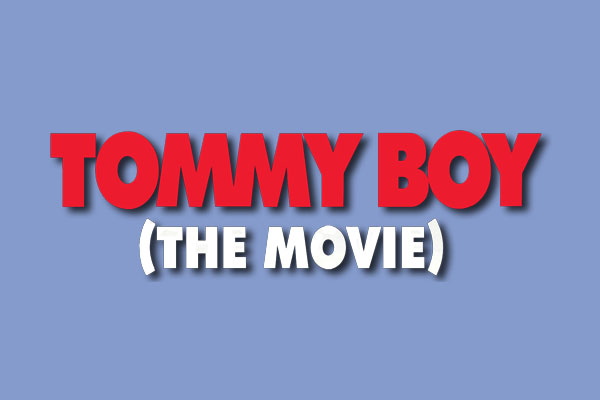 Tommy Boy Movie Aluminum Round Ornaments