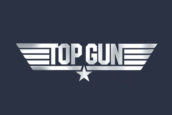 Top Gun Movie Plus Size Scoop Neck Tees