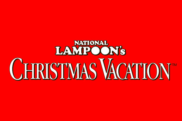 National Lampoon's Christmas Vacation Movie Chrome License Plate Frame