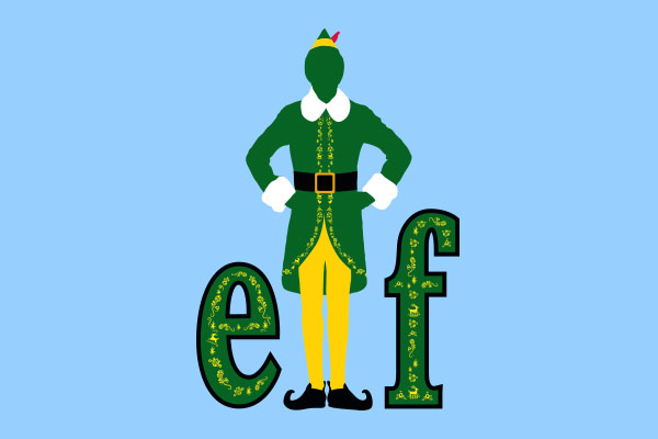 Elf: The Movie Men's Fitted T-Shirts