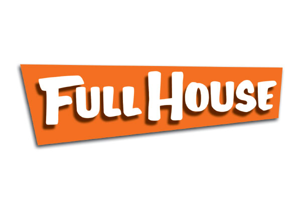 Full House TV Show Large Buttons