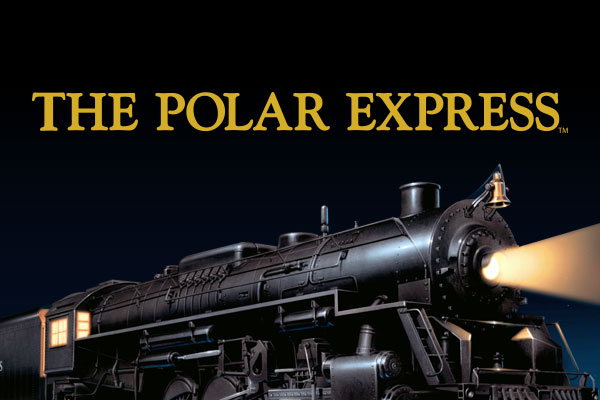 The Polar Express Movie Silver Square Charms
