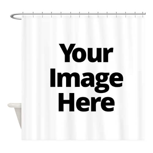 Your Image Here - Shower Curtains